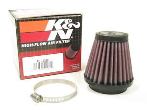 K n Universal 2 Air Intake Cone Filter 51mm Ru 2580 Car truck suv motorcycle