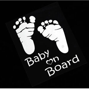 Popular Baby On Board Vinyl Car Graphics Window Vehicle Sticker Decal Decor Auto