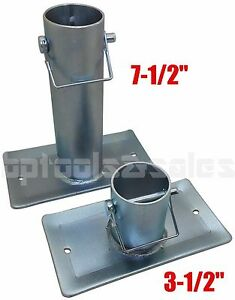3 1 2 7 1 2 Trailer Jack Foot Plate Stand Foot 2 000lbs Rv Trailer Canopy
