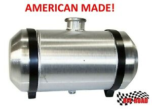 4 4 Gallon 10x13 Center Fill Round Spun Aluminum Gas Tank Offroad 1 4 Npt