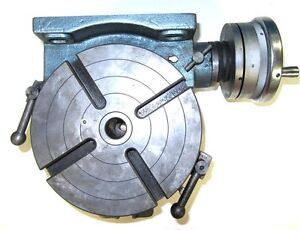 New Yuasa 550 046 6in Horizontal Vertical Rotary Table