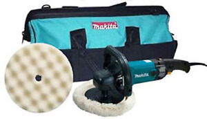 Makita Mkt 9237cx2 7 Variable Speed Electronic Polisher Kit