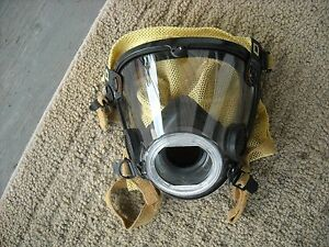 Scott Av 2000 Mask Large W Nose Cup Kevlar Scba Air Pak