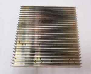 Shawmut Aluminum Heat Sink 8 X 8 X 1 in 3 8 Plate Mountable Lightly Used Igbt