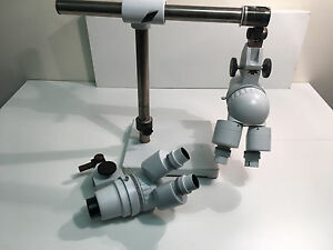 Laboratory Microscope 2 With Stand