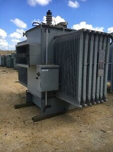Westinghouse 2000 Kva 13 800 Primary 600y 346 Secondary Substation Transformer