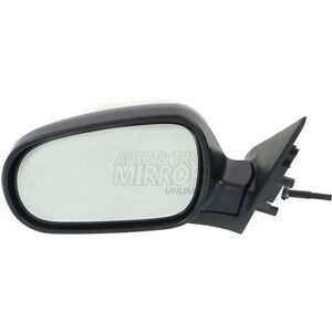 90 93 Honda Accord Driver Side Mirror Replacement Manual Remote