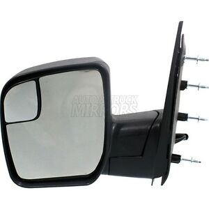 10 14 Ford Econoline Van Driver Side Mirror Replacement