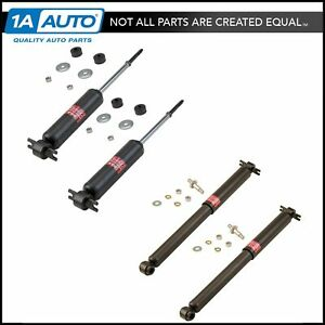 Kyb Excel G 343127 343157 Front Rear Suspension Shock Absorber Kit Set 4pc New
