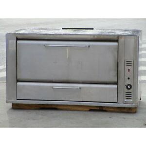 Blodgett Deck Natrual Gas Oven 966 Good Working Condition