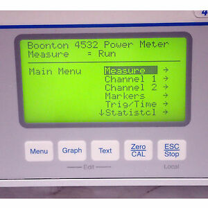 Boonton 4532 Rf Peak Power Meter Dual Channel 10khz 40ghz