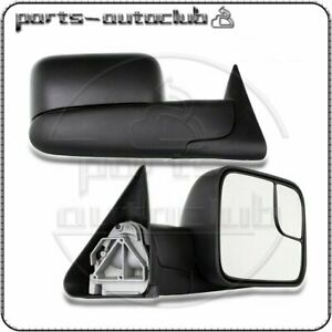 For 94 01 Dodge Ram 1500 94 02 2500 3500 Manual Flip Up Mirrors Left right