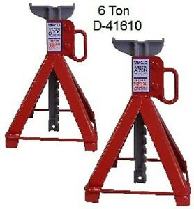 6 Ton Garage Stands D41610 100 Made In Usa By U S Jack