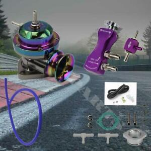 Neo Chrome Turbo Type rs Blow Off Valve Purple Manual 30 Psi Boost Controller