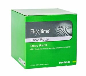 Flexitime Easy Putty Vps Impression Material Dose Refill By Kulzer Fresh