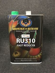 House Of Kolor Fast Urethane Reducer Kosmic Reducer Gallon Ru310g