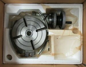 New Phase Ll 220 008 8in Horizontal Rotary Table