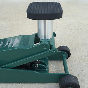 100mm Tall Floor Jack Extender With 25mm 30mm Stem