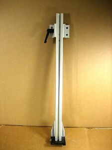 Custom Optical Rail Mount Adjustable Mount With Rail Mount Bracket 19 1 2 L
