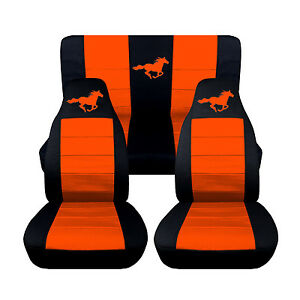 Car Seat Covers 2005 2007 Ford Mustang Convertible Front Rear Horse Design