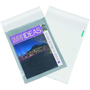 4000 9 x12 Clear View Poly Mailer Shipping Plastic Mailing Envelopes Bags