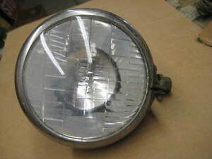 Vintage Auto Radiator Auxiliary Driving Light No 20 22 Old Hot Rat Rod Car Truck