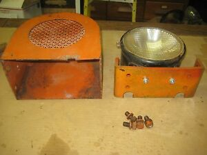 Rare Vintage Allis Chalmers Ac Monarch F G H K L Tractor Crawler Light In Shield