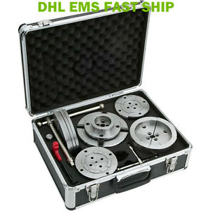 High Quality 5 5 140mm Wood Lathe Chuck Set With Aluminum Case Fast Ship