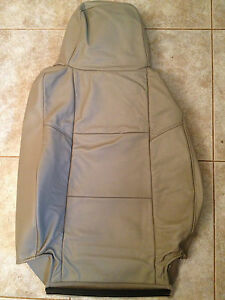 2004 2005 Ford Ranger Factory Original Lh Driver Seat Cover Tan Leather