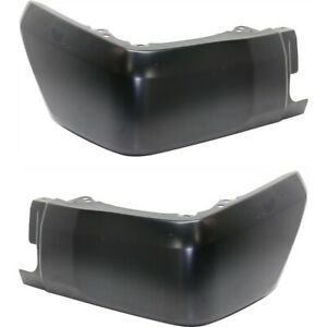 Bumper End Caps For 2014 2018 Toyota Tundra Bumper Extension Set Rear Textured