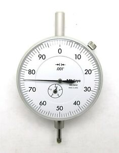 Mitutoyo 3412 001 4 0 100 Dial Indicator Old Stock