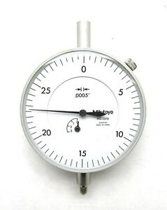 Mitutoyo 3570 0005 045 0 30 Dial Indicator Old Stock
