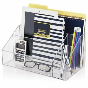 Mail Organizer For Desk Office Home Sorter Premium Quality Plastic Craft New