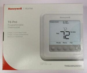 Honeywell T6 Pro Programmable Thermostat Th6220u2000