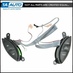 Motorcraft Steering Wheel Mounted Cruise Control Switch Buttons For Ford Mercury