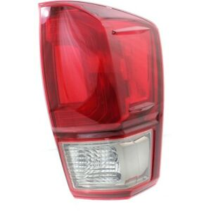Tail Light For 2016 2017 Toyota Tacoma Trd Sport Rh W Bulb S