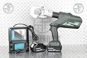 Greenlee Esg50l Cordless Battery operated Hydraulic Wire Cable Cutter Al Cu