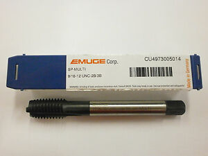 Emuge 9 16 12 Spiral Point Multi tap 2b 3b High Performance Germany Cu4973005014