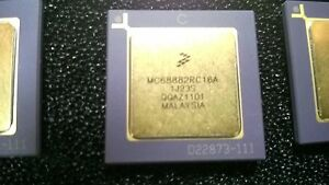 Mc68882rc16a freescale Microprocessor Mpu Mc680x0 Fpu Coprocessor ic circuit