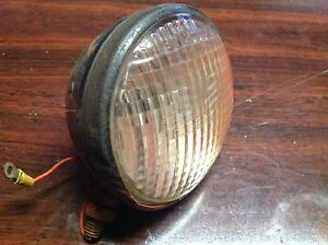 Vintage Ac Allis Chalmers 5 Tractor Light Lamp Glass Lens Guide 924210