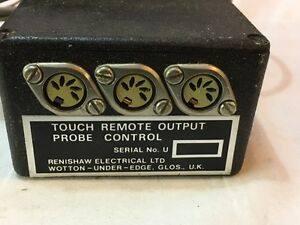Renishaw Rpm01 Probe Control Touch Remote Output