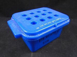 Nalgene 12 place 2 2ml Microcentrifuge Tube Cryogenic Vial Labtop Cooler Rack
