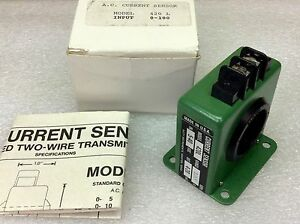 Katy Instruments 420l Ac Current Sensor 5 40 Vdc Input 4 20 Ma Output New In Box