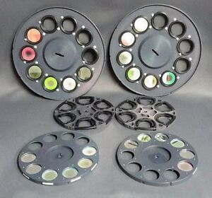Optical Filter Wheels Lot Of 6