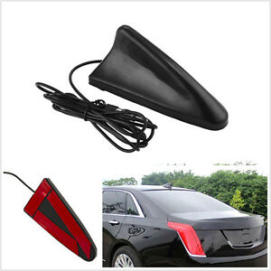 Universal Black Car Roof Radio Am Fm Signal Booster Shark Fin Aerial Antenna
