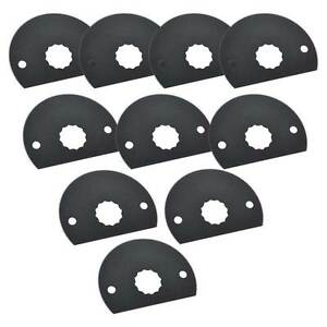 80mm Hss Semi circular Multi tool Saw Blades 10pk Fits Fein Supercut Oscillating