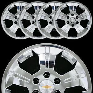 4 Chrome 2014 2019 Silverado 1500 18 Wheel Skins Hub Caps Alloy Rim Full Covers