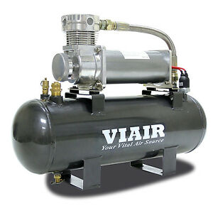 Viair 2 Gallon 200 Psi 12 Volt High flow 480c Compressor Air Source Kit 20008