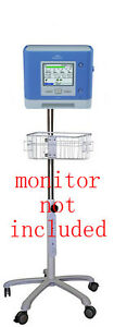 Roll Mobile Stand For Philips Respironics Trilogy 202 Monitor Small Wheel