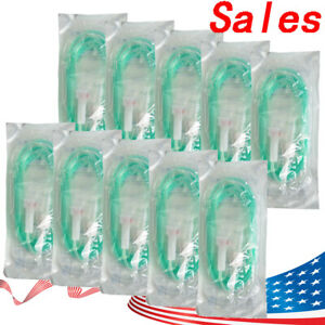 Usa 10pcs Dental Disposable Irrigation Tube Tubing For Surgic Surgery Implant